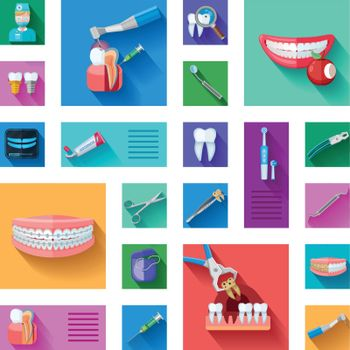Dentist Icons Set