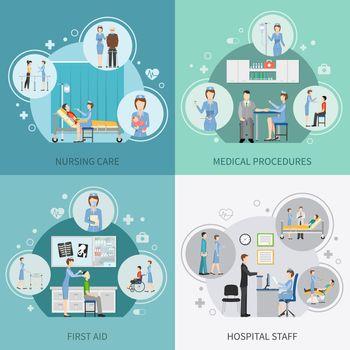 Nurse Health Care 2x2 Design Concept