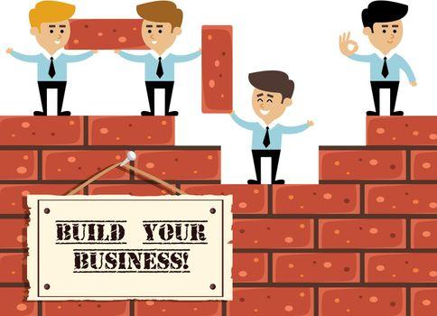 Build business concept