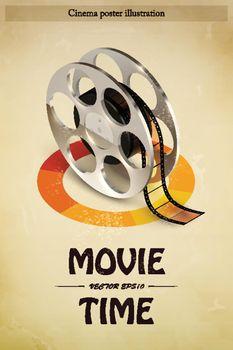 Cinema Poster Illustration