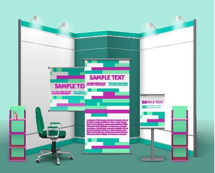 Exhibition Stand Design Template