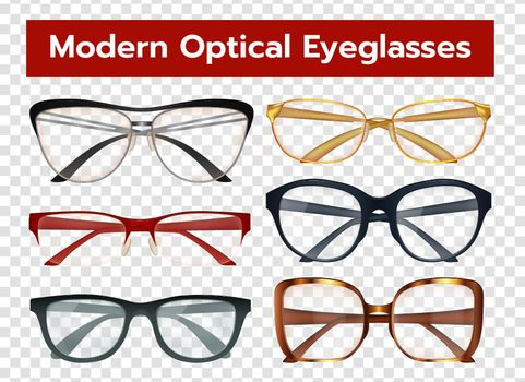 Glasses Transparent Set