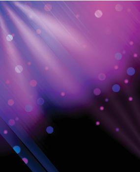 Glitter background print