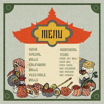 Asian Food Menu