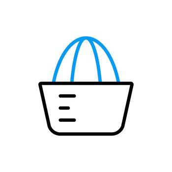 Lemon squeezer vector flat icon. Kitchen appliance