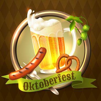 Oktoberfest festival background