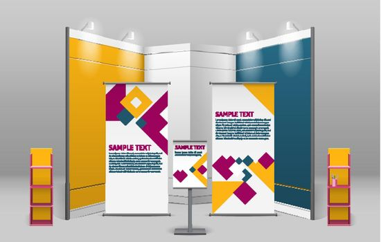 Advertising Exhibition Stand Design