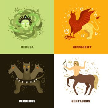 Mythical Creature 2x2 Concept