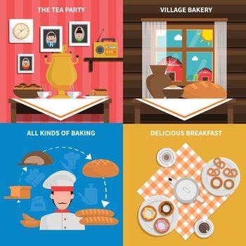 Bakery concept set