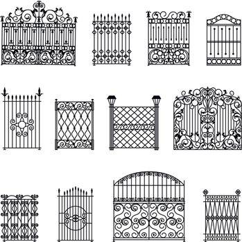 Decorative Fences Set
