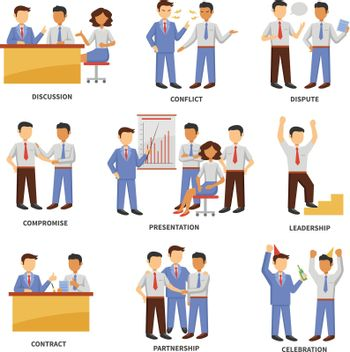 Business character set