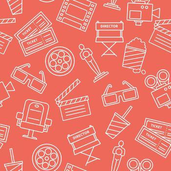 Line Cinema Pattern