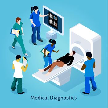 On Reception At Doctor Isometric Composition