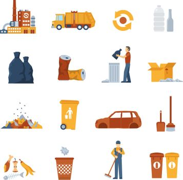 Garbage Color Icons