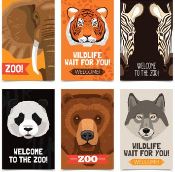 Animals Mini Posters Set