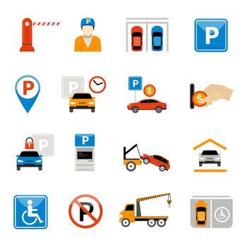 Parking Icons Set