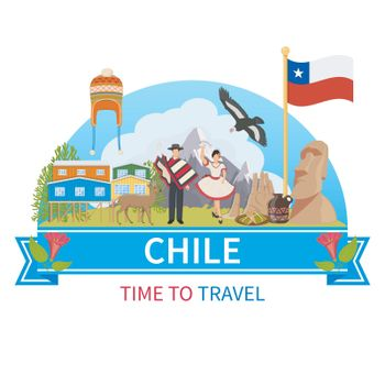 Chile Vector Composition