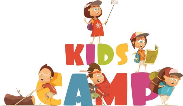 Camping Kids Concept