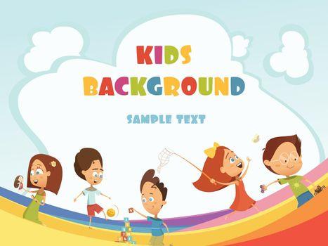 Playing Kids Background