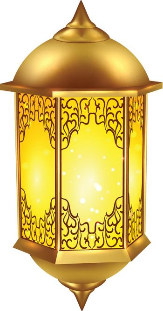 Realistic Ramadan Lamp Icon