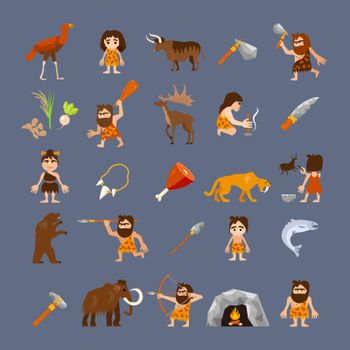 Ancient Flat Icons Collection