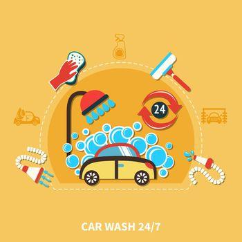 24h Car Wash Composition