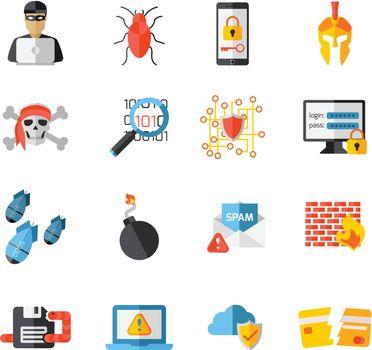 Hacking Elements Icon Set