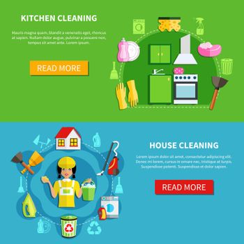 Clean The House Banners