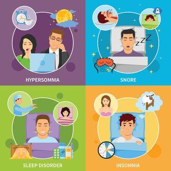 Sleep Disorders Compositions Set