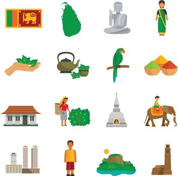 Sri Lanka Icons