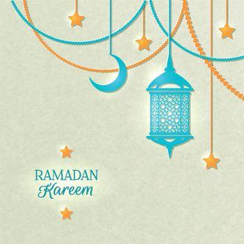 Ramadan Light Color Poster