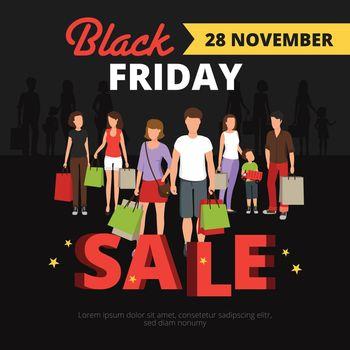 Sale Poster Illustration