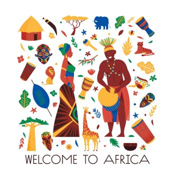 Welcome To Africa Composition
