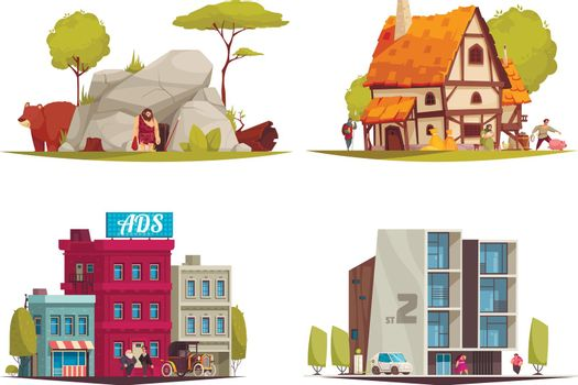 Housing Evolution Architecture Set