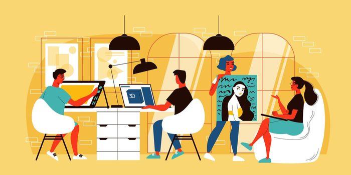 Design Studio Doodle Composition