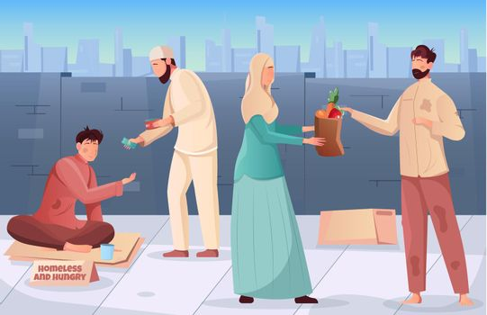 Ramadan Charity Background