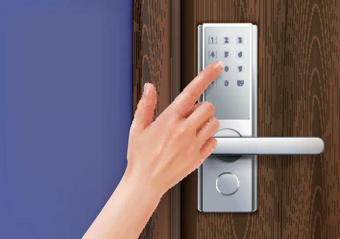 Electronic Door Handle Composition