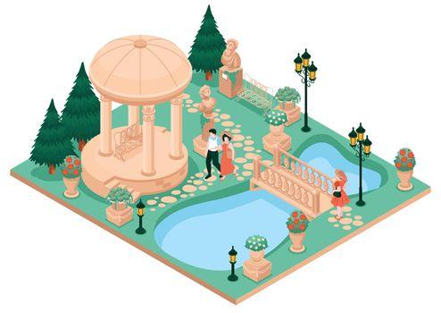Country House Garden Concept