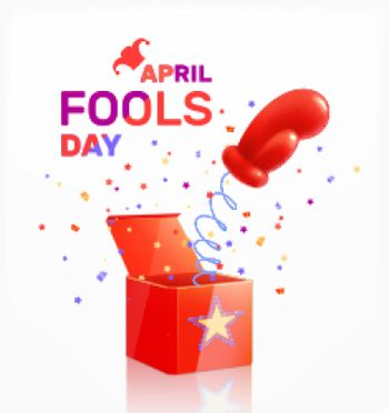 April Fools Day Composition
