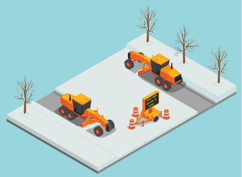 Snow Removal Machines Composition