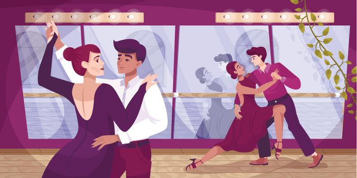 Pair Dance School Composition