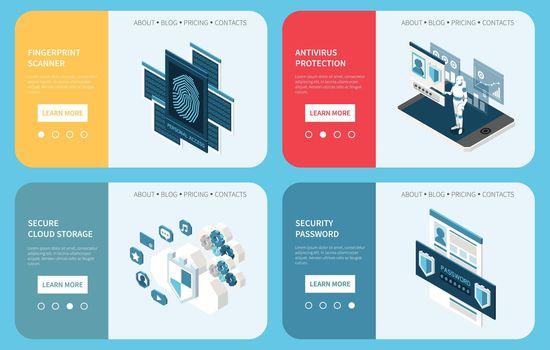 Digital Privacy Horizontal Banners
