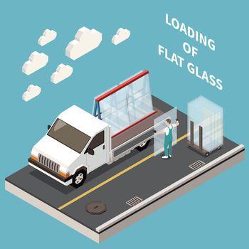 Flat Glass Transportation Composition