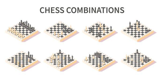 Chess Combinations Set