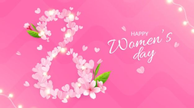 Happy Womens Day Composition
