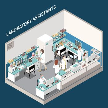 Medical Tests Laboratory Composition
