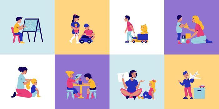 Kindergarten Children Design Concept
