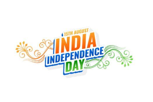 decorative india independence day background