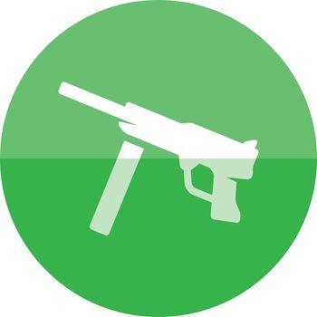Circle icon - Vintage Firearm