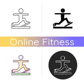 Pilates icon.